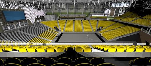Basketball arena design leaked? | PantherU